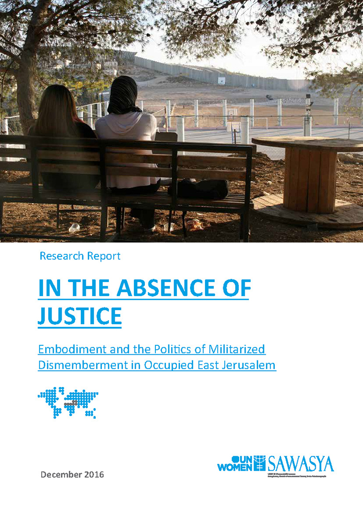 Cover picture In the Absence of Justice