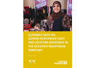 Guidance Note on Gender Responsive Cash and Voucher Assistance in the Occupied Palestinian Territory