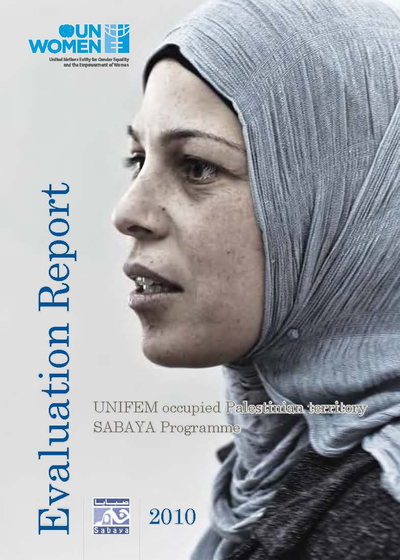 Occupied Palestinian Territory Sabaya Programme Evaluation Report