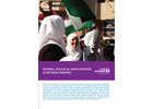 Women, Political Participation & Decision-Making (Fact Sheet)