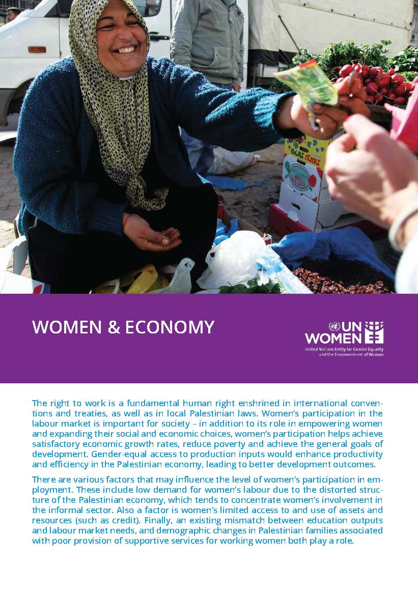 Women & Economy (Fact Sheet)