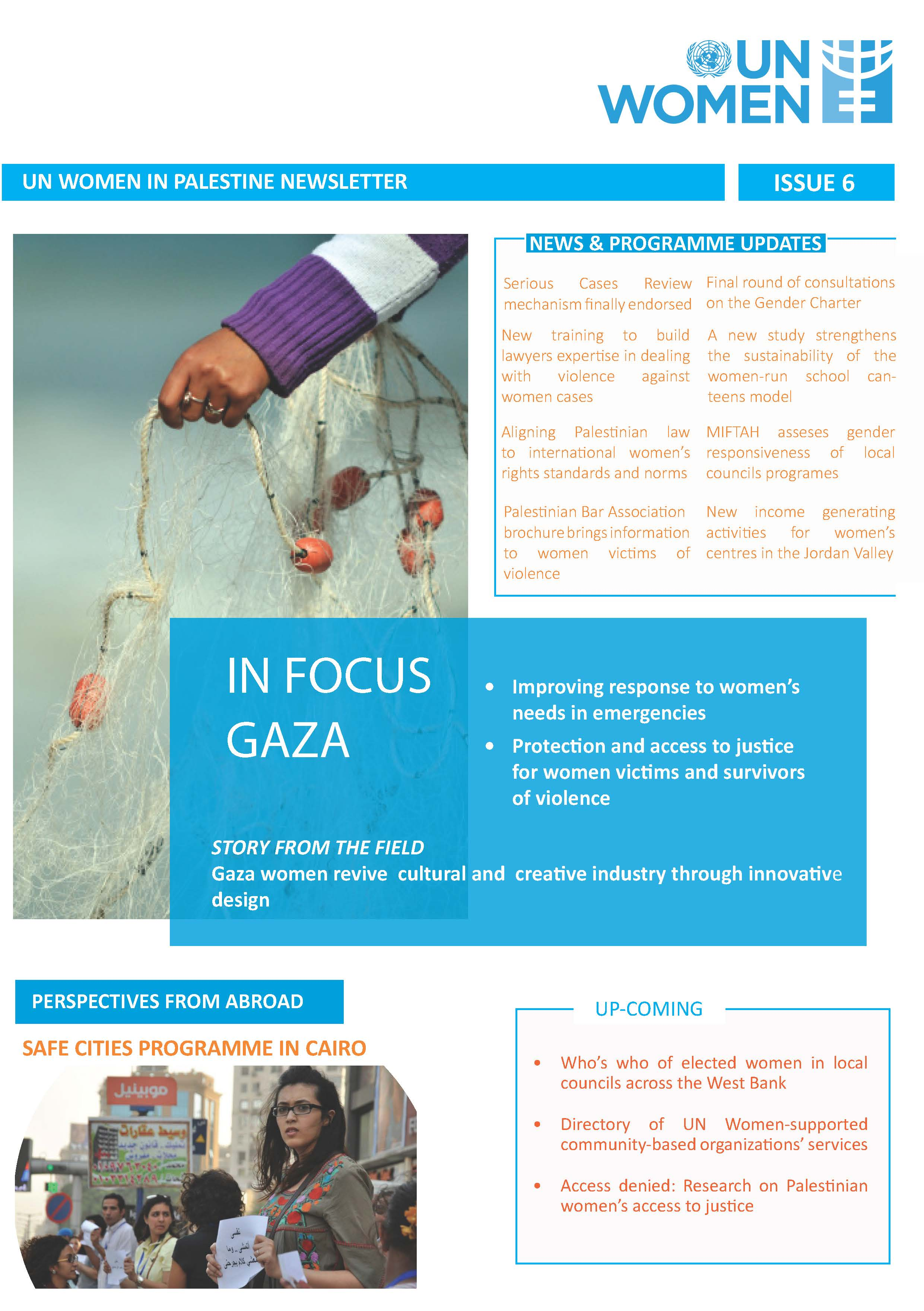UN Women in Palestine Newsletter 6