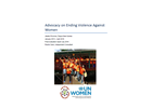 Final Evaluation: Advocacy on Ending Violence Against Women (Papua New Guinea)