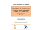 Final Evaluation: Safe Workplaces, Safe Communities (Cambodia)