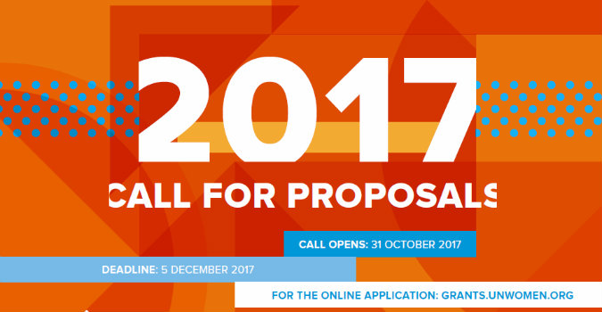 2017 UN Trust Fund to End Violence against Women Call for Proposals