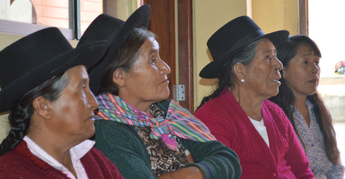 Photo: Mildred Garcia, UN Trust Fund grantee in Peru working to end violence against older women.