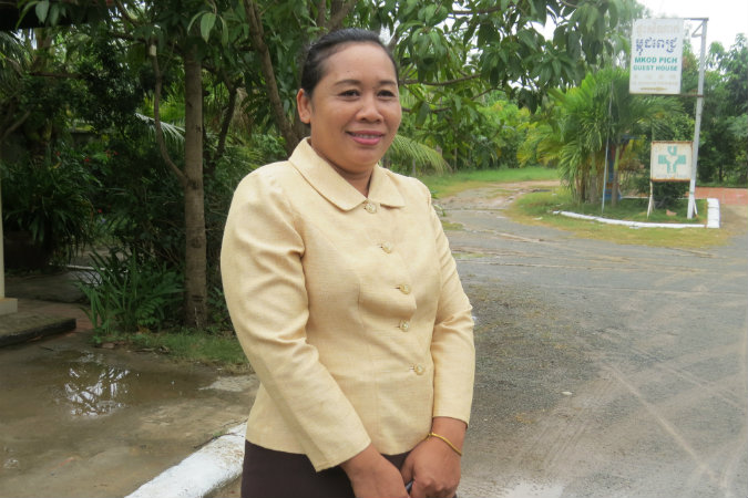 Photo: World Hope International Srey Linna, Social Worker at the Department of Social Affairs, Veterans and Youth Rehabilitation. One of the 31 Social Workers trained by Hagar International through the World Hope International project funded by the UN Trust Fund to End Violence against Women.