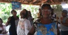 Gislaine St. Fleur takes part in a technical implementation session of SASA! in Haiti. Photo: Beyond Borders