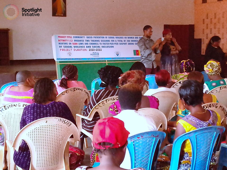 CAPEC empowers women and girls and mitigate violence in Cameroon