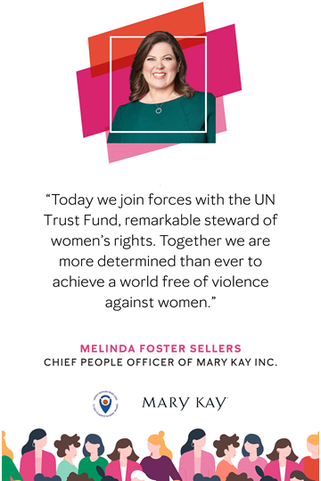 UN Trust Fund partners with Mary Kay to support survivors of violence during COVID-19