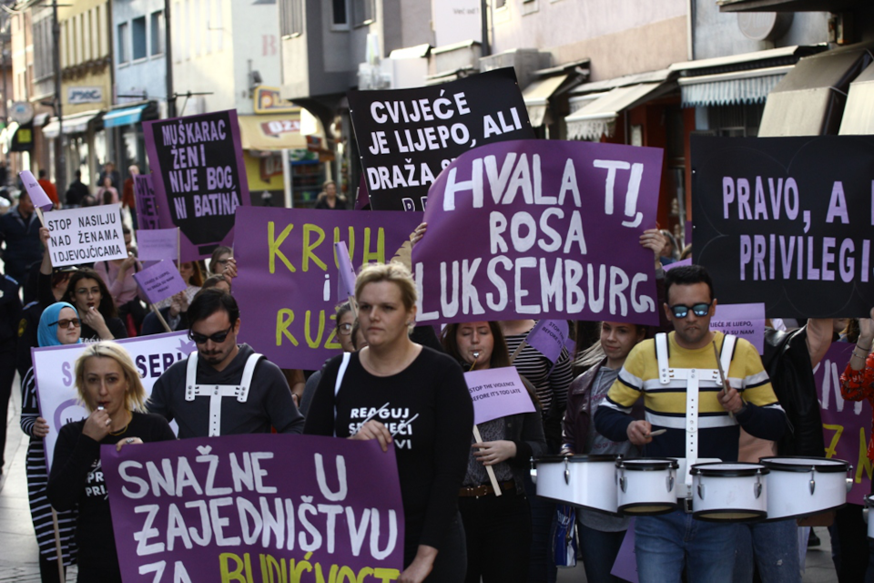 Campaign against femicide before COVID19