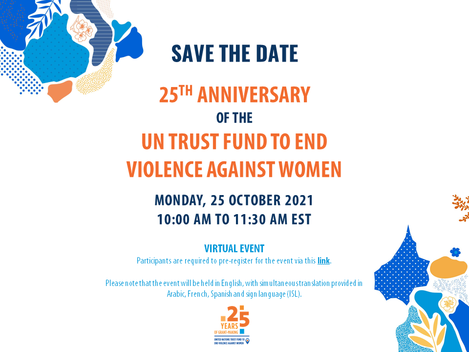 Save the Date UNTF@25