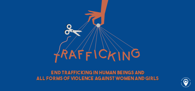 End trafficking in human beings and all forms of VAWG