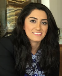 Photo of Pari Ibrahim of the Free Yezidi Foundation