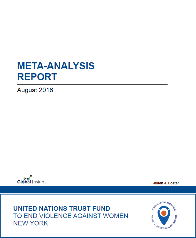 UN Trust Fund to End Violence against Women Meta-Analysis Report