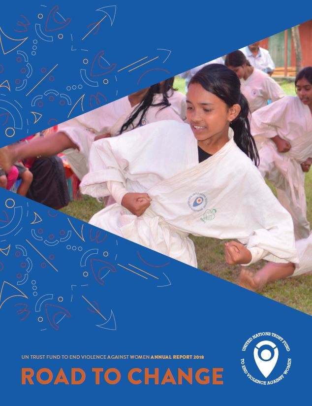 UN Trust Fund Annual Report 2018 cover page