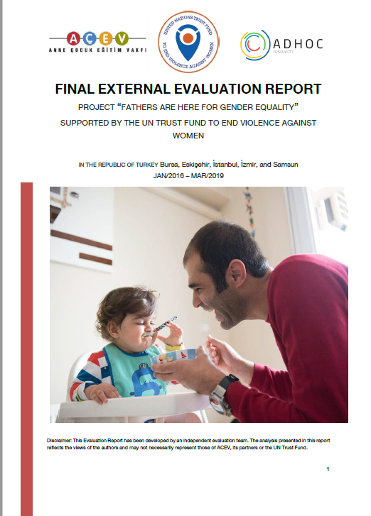 Final Evaluation: Fathers are Here for Gender Equality (Turkey)