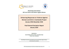 Final Evaluation: Enhancing Responses to Violence Against Women and Girls in Cambodia
