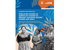Learning from practice: Mobilizing women as agents of change to prevent violence against women and girls