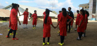 Case Study: Girls in football say NO to violence in Nepal