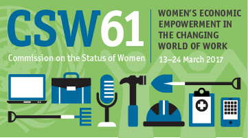 CSW61: Women's economic empowerment in the changing world of work