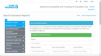 GATE – Global Accountability and Tracking of Evaluation Use