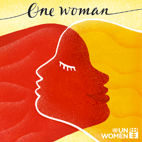 """One Woman"" album cover"