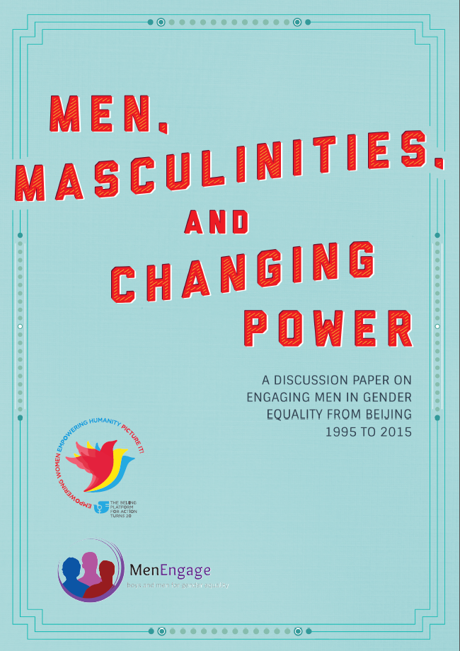 MenEngage discussion paper cover