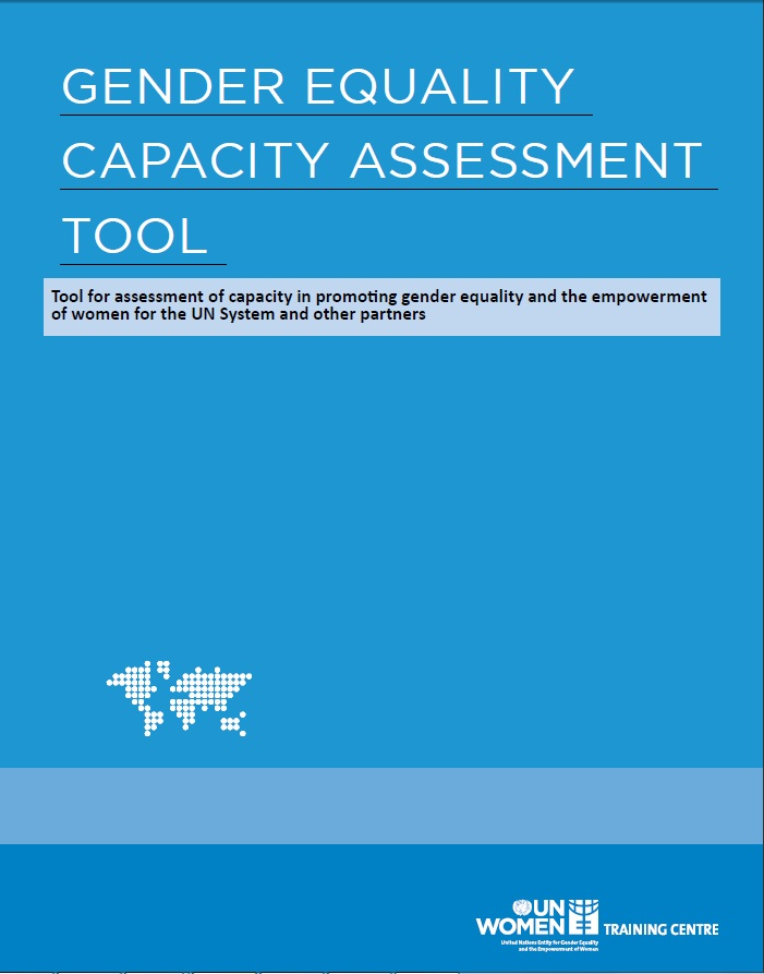 Capacity Assessment Tool cover page