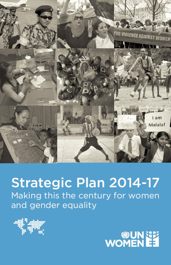 Strategic Plan 2014–17: Making this the century for women