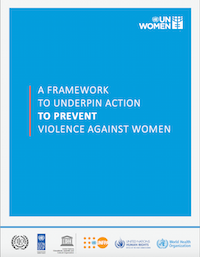 A Framework to underpin action to prevent violence against women