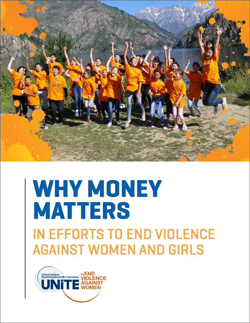 Why money matters in efforts to end violence against women and girls
