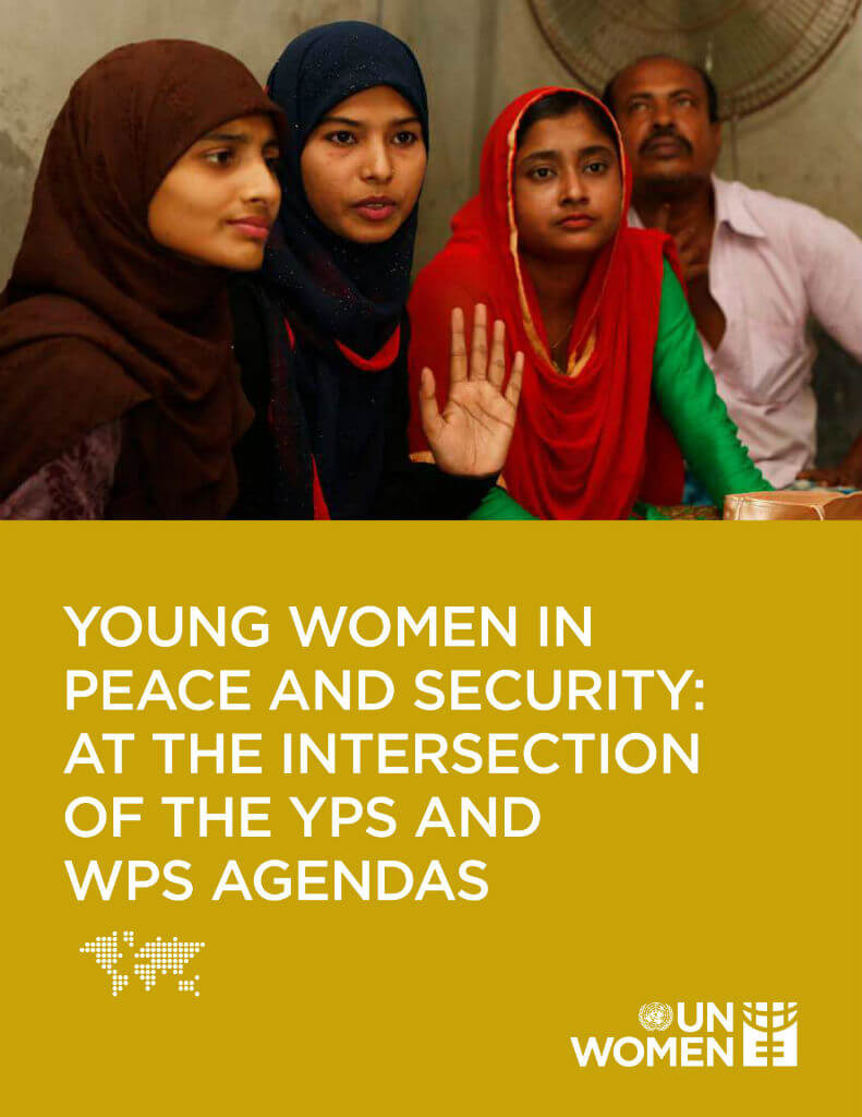 Young women in peace and security: At the intersection of the YPS and WPS agendas