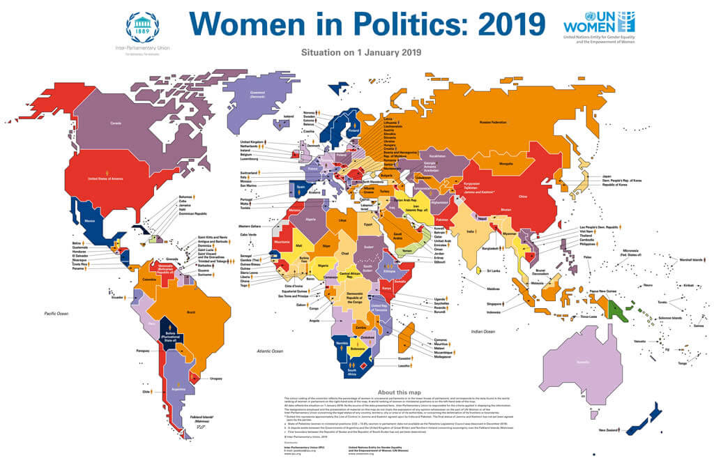 Women in politics: 2019