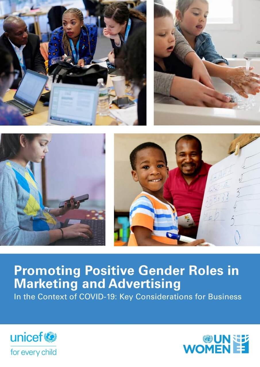 COVID-19: Promoting positive gender roles in marketing and advertising