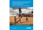 Gender-responsive humanitarian response to the COVID-19 pandemic