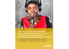 'Who holds the microphone?' Crisis-affected women's voices on gender-transformative changes in humanitarian settings: Experiences from Bangladesh, Colombia, Jordan and Uganda