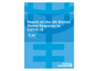 Report on the UN Women global response to COVID-19
