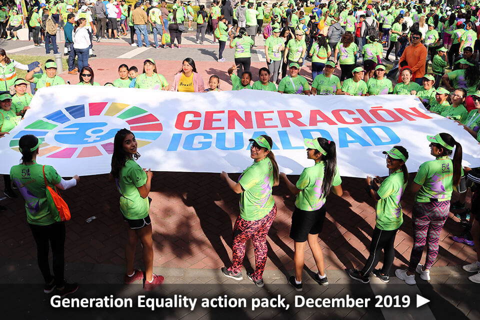Generation Equality action pack, December 2019