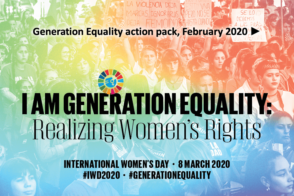 Generation Equality action pack, February 2020