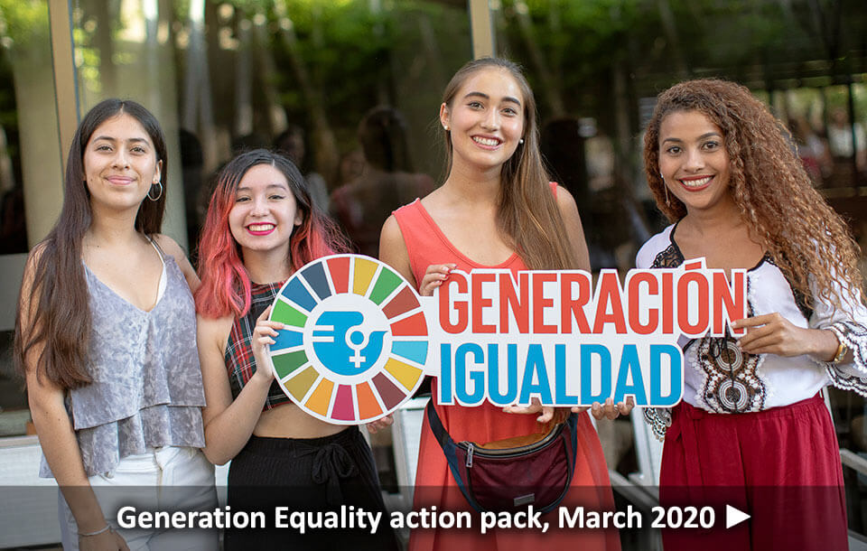 Generation Equality action pack, March 2020