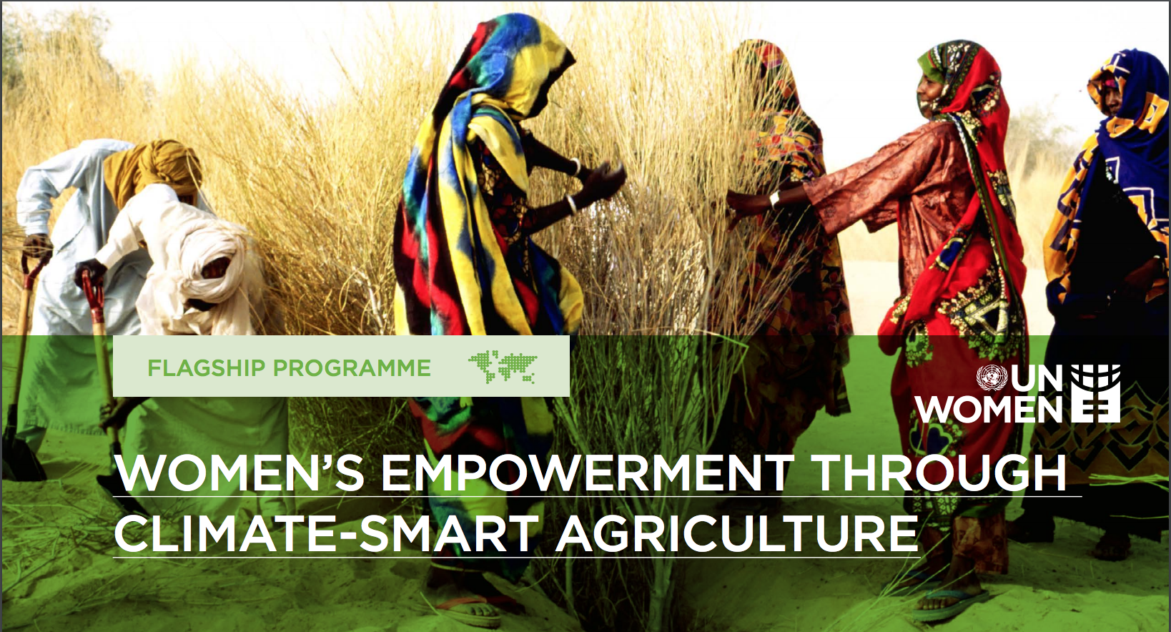 Women's empowerment through climate-resilient agriculture