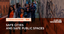 Safe cities and safe public spaces