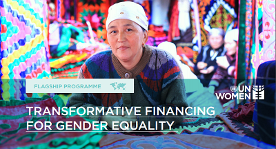 Transformative financing for gender equality
