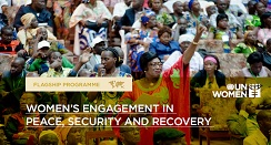 Women's engagement in peace, security and recovery