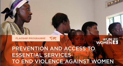 Prevention and access to essential services to end violence against women