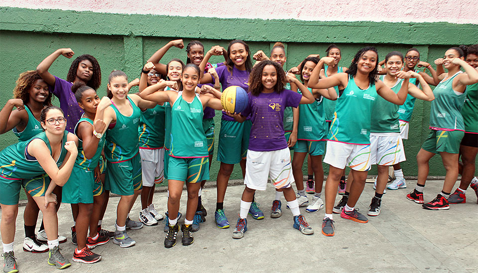 """Coach Ellen Rosa is proud of the girls and happy to see their friendship growing stronger. """"They are trusting each other more than ever and that is improving their performance on the court. We've been getting closer since the programme started. The girls feel more comfortable to come to me when they need advice or face personal problems and I´ve learned how to talk to them about some of these issues."""""""
