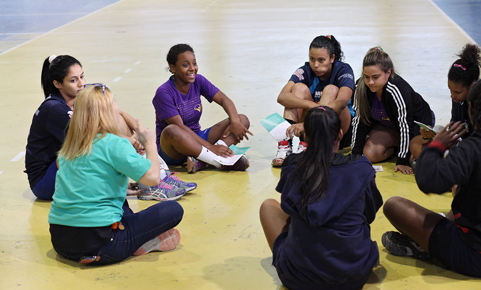 The workshops offer a safe space for the girls to talk about gender inequalities