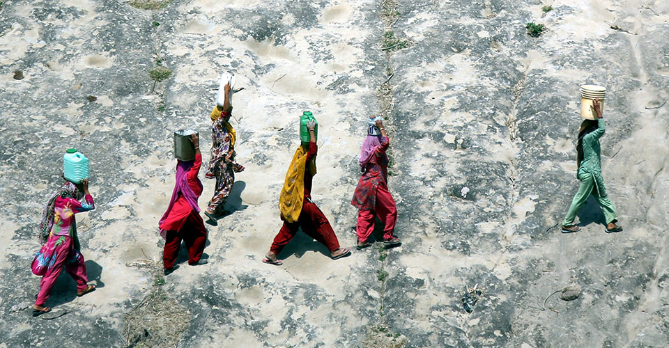 Photo essay: Climate change is a women's issue