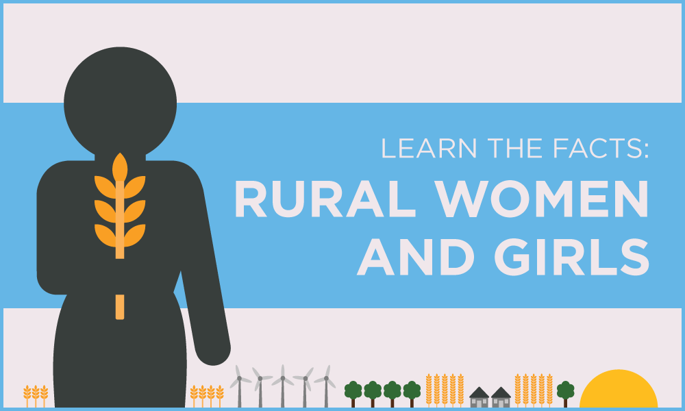 Learn the facts: Rural women and girls